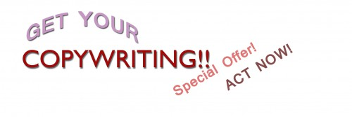 Copywriting header