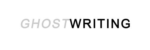 Ghostwriting Header